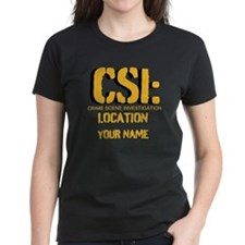 Customizable CSI Tee