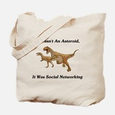 It Was Social Networking Tote Bag