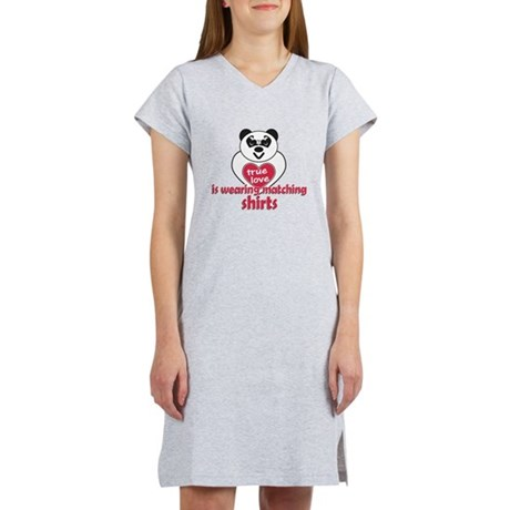 True Love Panda Women's Nightshirt