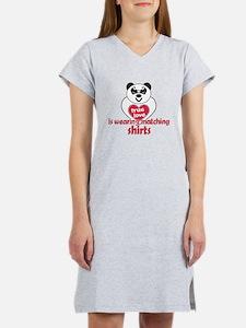 True Love Panda Women's Nightshirt