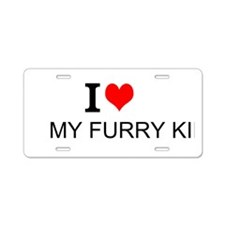 Furry Kids License Plate