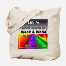 """""""On The Spectrum"""" Tote Bag"""