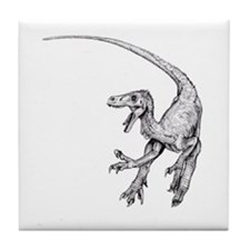 Velociraptor Tile Coaster