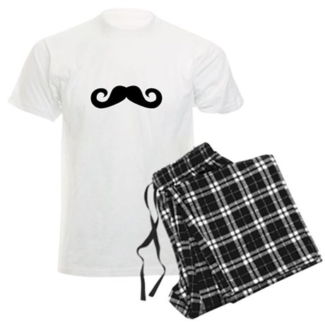 Mustache Men's Light Pajamas