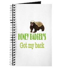 Honey Badger's Got My Back Journal