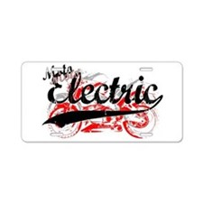 Electric Motorcycles Aluminum License Plate