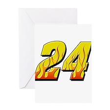 JG24flame Greeting Card