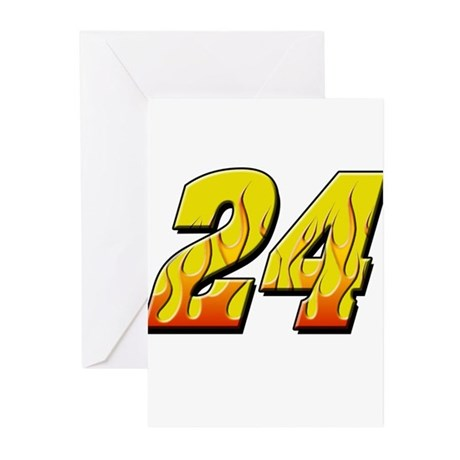 JG24flame Greeting Cards (Pk of 10)