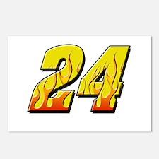 JG24flame Postcards (Package of 8)