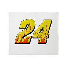 JG24flame Throw Blanket