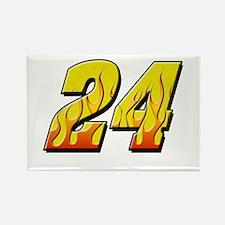 JG24flame Rectangle Magnet
