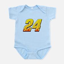JG24flame Infant Bodysuit
