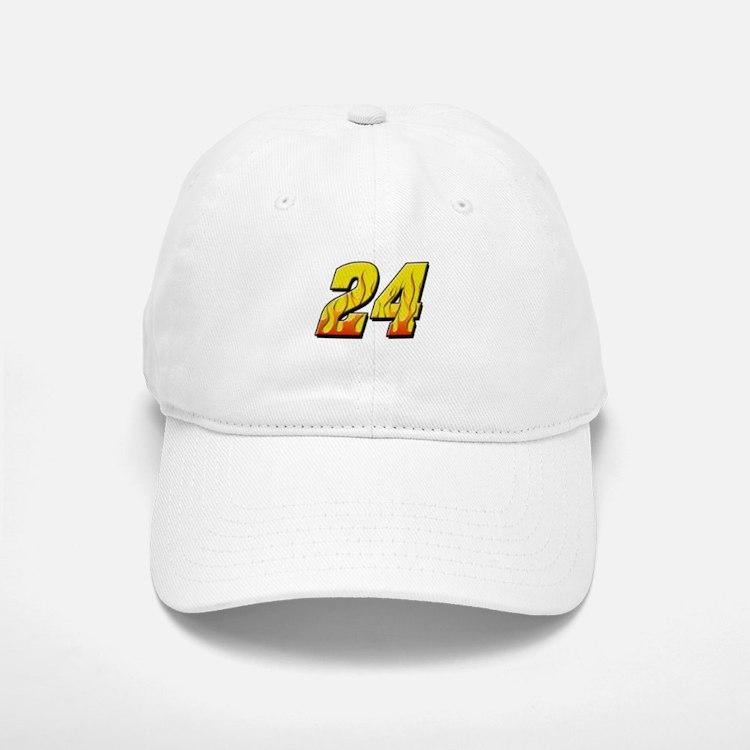 JG24flame Baseball Baseball Cap