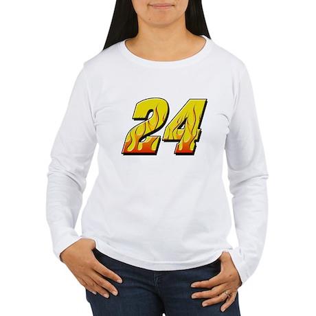 JG24flame Women's Long Sleeve T-Shirt