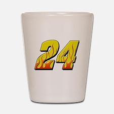 JG24flame Shot Glass