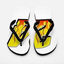 JG24flame Flip Flops