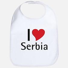 I love Serbia Bib