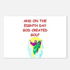 golf gifts t-shirts Postcards (Package of 8)