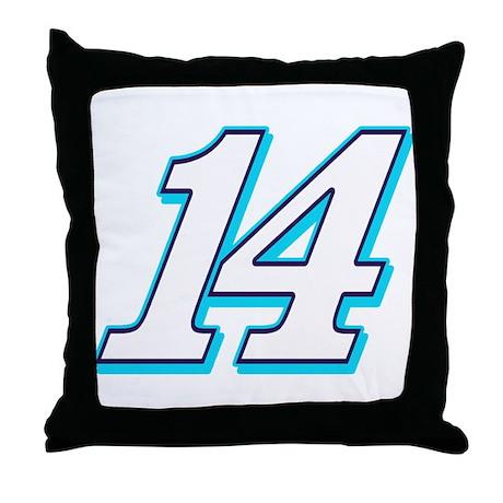 TS14blue Throw Pillow