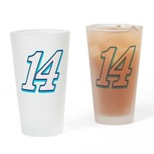 TS14blue Drinking Glass
