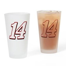 TS14red Drinking Glass