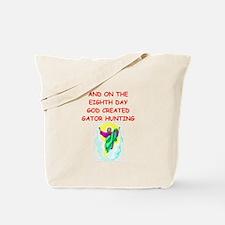 gator hunting Tote Bag