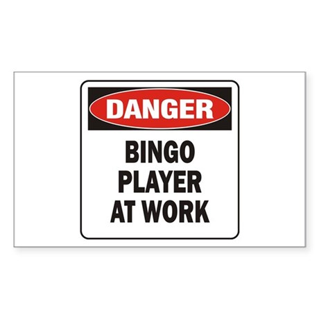 Bingo Sticker (Rectangle 50 pk)