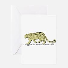 Cute Leopard spots Greeting Card
