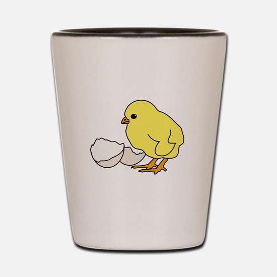 Chicken and Egg Shot Glass