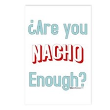 Nacho Enough Postcards (Package of 8)