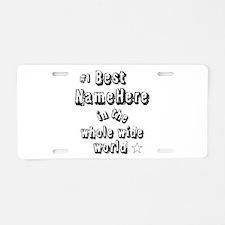 Best Blank Aluminum License Plate