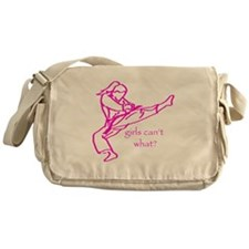 Girls Can't what? Messenger Bag