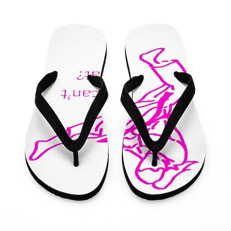 Girls Can't what? Flip Flops
