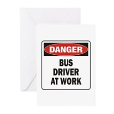 Bus Driver Greeting Cards (Pk of 20)