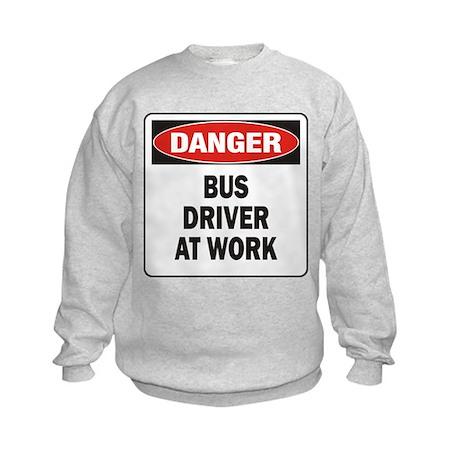 Bus Driver Kids Sweatshirt