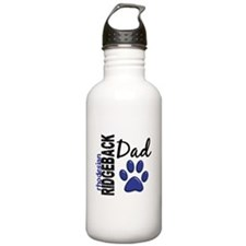 Rhodesian Ridgeback Dad 2 Water Bottle