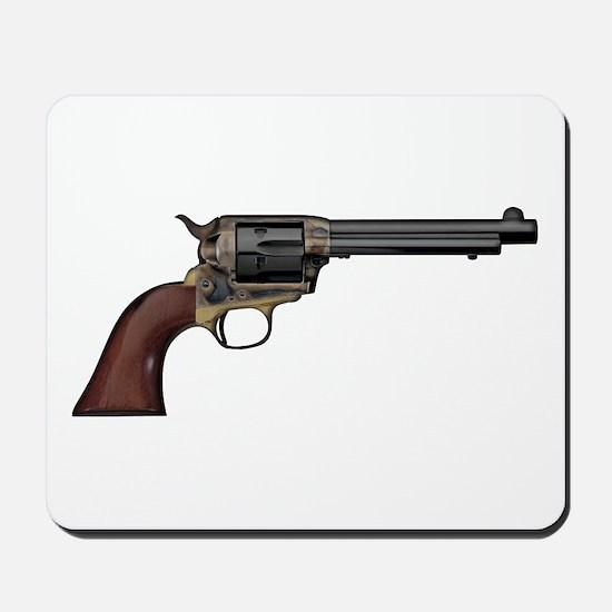 Vintage, Six Shooter Mousepad