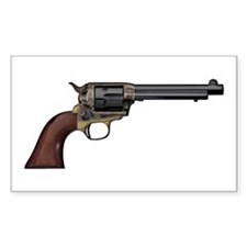 Vintage, Six Shooter Decal