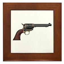 Vintage, Six Shooter Framed Tile