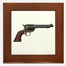 Vintage, Six Shooter Framed Tile