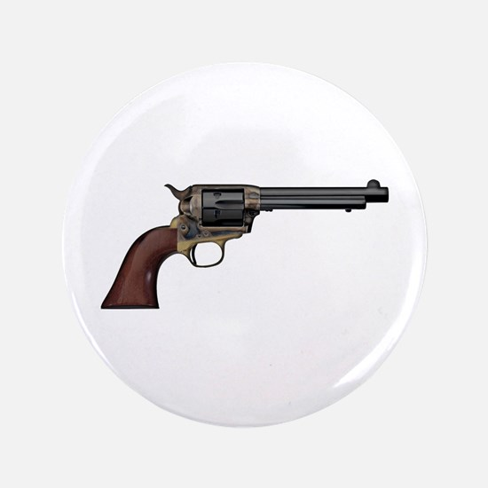 """Vintage, Six Shooter 3.5"""" Button"""