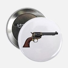"""Vintage, Six Shooter 2.25"""" Button"""