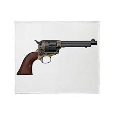 Vintage, Six Shooter Throw Blanket