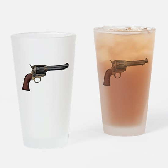 Vintage, Six Shooter Drinking Glass
