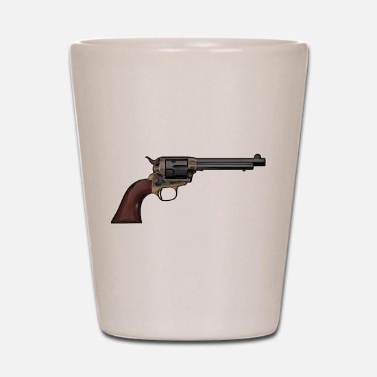 Vintage, Six Shooter Shot Glass