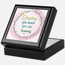 Teach Only Love Keepsake Box