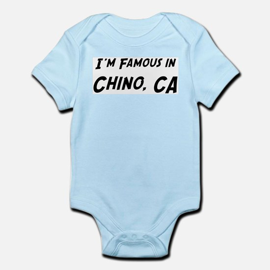 Famous in Chino Infant Creeper