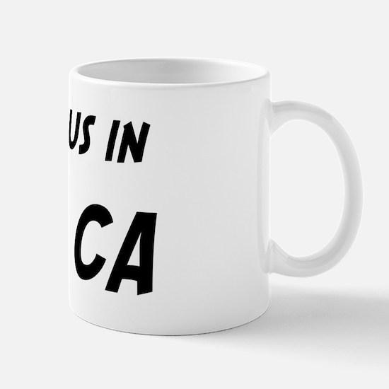 Famous in Chino Mug