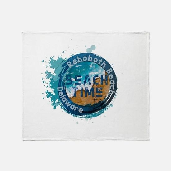 Rehoboth Beach Throw Blanket