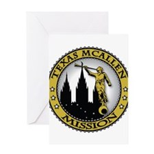 Texas McAllen LDS Mission Ang Greeting Card